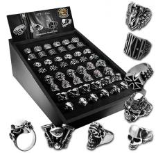 Wholesale Biker Rings