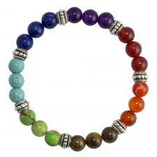 Colorful Marble Beaded Bracelet