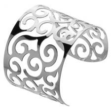 Wholesale Bangle for Women with Swirl Pattern