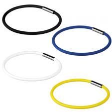 Silicone bracelet With Stainless Steel Magnetic Closure