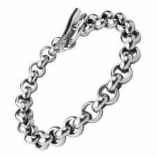 Stainless Steel Bracelet With Toggle Clasp