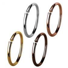 Stainless Steel Solid Round Bangle