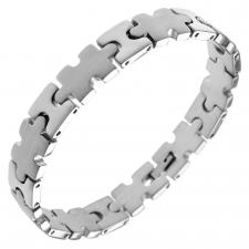 Stainless Steel Puzzle Bracelet