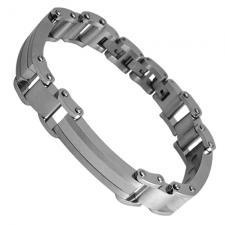 Magnetic Stainless Steel Adjustable Bracelet