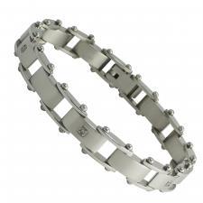 Stainless Steel Link Bracelet  Length: 9