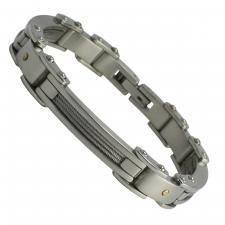 Stainless Steel Men's Bracelet  Length: 9