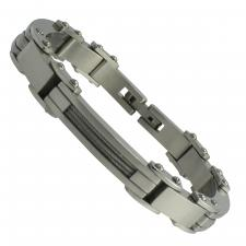 Stainless Steel bracelet with cable wire