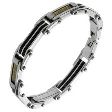 Wholesale Three Tone Bracelet for Men