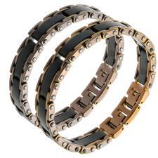 Wholesale Bracelet for Men in Rose and Black