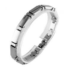 Gorgeous Tungsten Carbide Bracelet-- 6 mm Wide