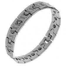Wholesale Tungsten Bracelet with Feline Spots