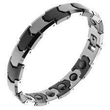 Wholesale Tungsten Bracelet in Tungsten and Black