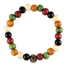 Multicolor Wood Bracelet