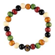 Multicolor Wood Bracelet