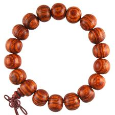 Light Reddish Wood Prayer Bracelet