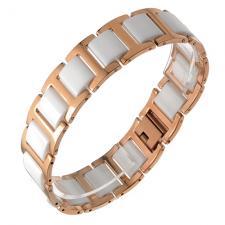 Ceramic and Stainless Steel Bracelet