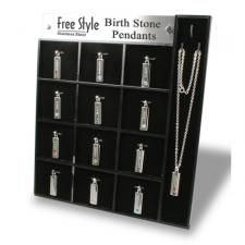 Birthstone Pendant Display