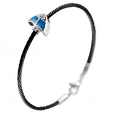 Cable Wire Bracelet with stingray