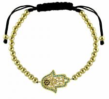 Adjustable Fashion Hamsa Lady Bracelet
