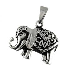 Stainless Steel Elephant Pendant