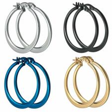 Wholesale Stainless Steel Hoop Earrings