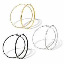 Gorgeous Stainless Steel Hoop Earrings