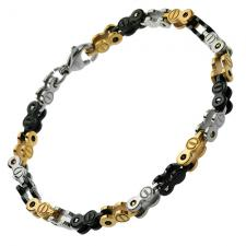 Wholsale 3 Tone Bracelet with Screws