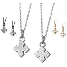 Cute Stainless Steel Cross Pendant