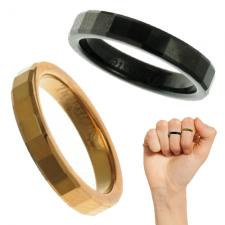 Tungsten Knuckle Ring