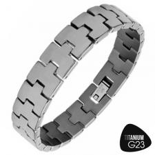 Gorgeous Titanium Bracelet with Very Shiny Finish
