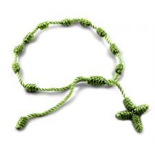 Military Green Rosary Bracelet