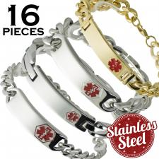 4 Styles x 4 Each = 16 Pieces  Please Note, This Package Is Pre-Packaged According To Style Availability!