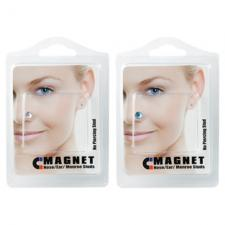 Non-Pierced Magnetic Nose/Ear Monroe Studs in Assorted Colors