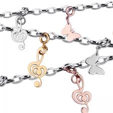 Wholesale Stainless Steel Charm Necklace