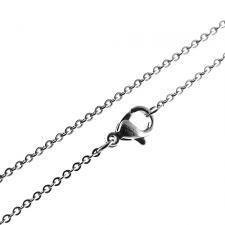 Traditional Stainless Steel Chain -- 1.5mm Wide