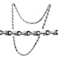 Stainless Steel Link Necklace (24 IN)