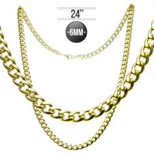 Cuban Chain in Stainless Steel