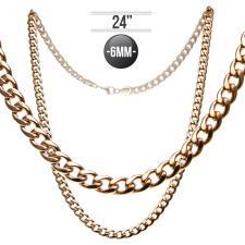 Rose Gold Cuban Chain