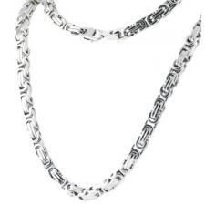 Stainless Steel Byzantine Chain