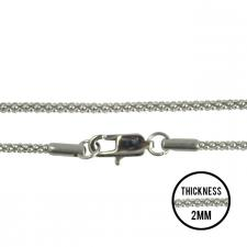 Women's Stainless Steel Mesh Chains