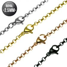 Royal Chain in Stainless Steel