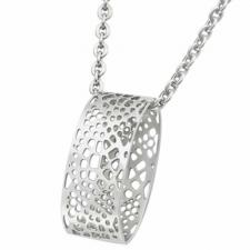 Beautiful Stainless Steel Pendant With Cut Out Design !!