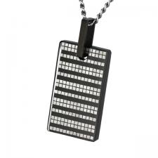 Black Stainless Steel Pendant