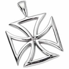 Stainless Steel Pendant - Maltese Cross Design
