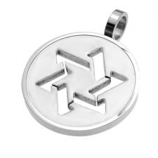 Modern Star of David Pendant