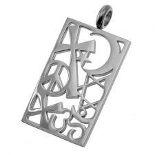 Stainless Steel Coexist Pendant