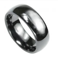 Beautiful Black Zirconia Ceramic Ring