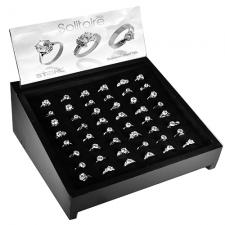 Wholesale Stainless Steel Solitaire Rings