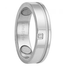 Stainless Steel Ring with Magnets