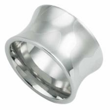 Stainless Steel Ring with Modern Design